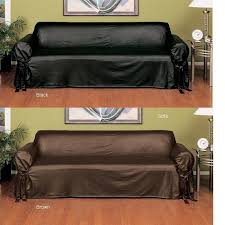 leather couch covers.  Covers Two Piece Sofa Slipcover Grazy On Leather Couch Covers