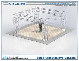 diy portable stage small stage lighting truss. Heavy Duty Truss RIg For Lighting Support And Trade Show Displays C21-244. Portable Display. Can Be Used Stage Diy Small