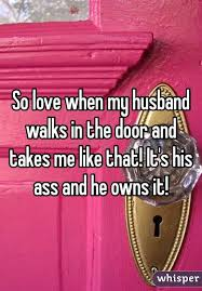Husband takes it in his ass