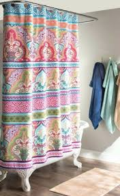 bright multi colored shower curtains shower curtains design for bright colored shower curtains