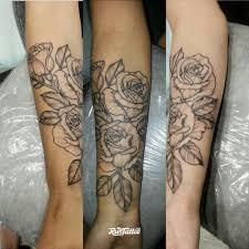 розы татуировки Rustattooru саки