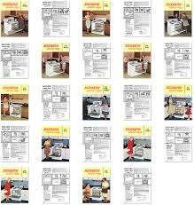 kitchen range library kelvinator electric range brochures kelvinator electric range brochures