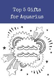gifts for the aquarius