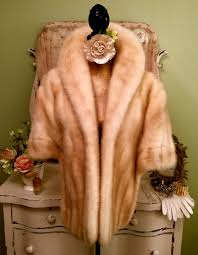 stole olegcassini a high value vintage fur stole light color tailored shaping beautiful condition