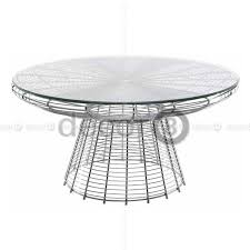 wire coffee table. Round Wire Coffee Table