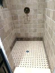 mosaic shower floor tile. Replacing Shower Floor Tile Glass Mosaic Ed For 5 Installation Changing .