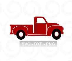 Pickup Truck Clipart Awesome Truck Svg Red Truck Svg Truck Clipart ...
