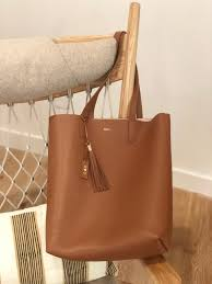 cuyana tall structured leather tote the most luxurious and useful personalized push gift
