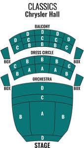Chrysler Hall Norfolk Virginia Symphony Orchestra