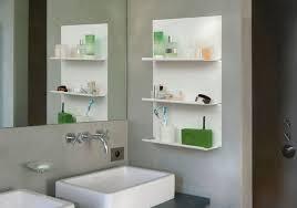 set of 4 bathroom shelves le