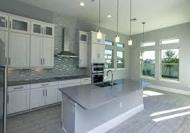 white kitchen grey backsplash. Interesting Grey Backsplash White Cabinets Kitchen With Grey Stone Contemporary  Gray Island Counter Pendant Lighting And On White Kitchen Grey Backsplash