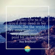Ray Bradbury Quotes New FarHorizonBestInspiringTravelQuotesRayBradbury Far Horizon