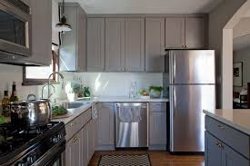 traditional dark brown cabinet light gray kitchen cabinets grey kitchens with elegant black decorating ideas stained