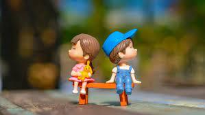 1360x768 Cute Kid Couple Toy 4k Desktop ...