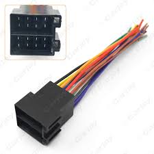 5pcs universal female iso radio wire wiring harness adapter stereo wiring harness color codes at Universal Radio Wiring Harness
