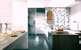 Grau Weiße Badezimmer Fliesen Design Ideen Wand Muster Holz ...