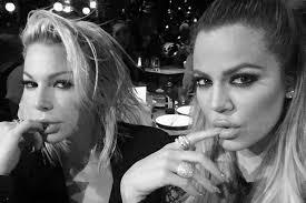 khloe kardashian and joyce bonelli pout