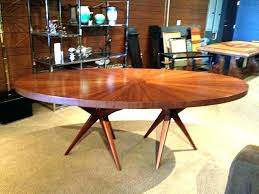 modern round dining table mid century wood chairs set furniture fascinating wooden ta
