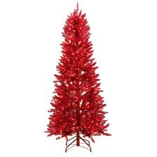 Hgtv Create Christmas Tree Ideas Red And Silver A Designer Hgtv Red Artificial Christmas Trees