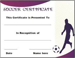 soccer awards templates football certificate template 30 soccer award certificate
