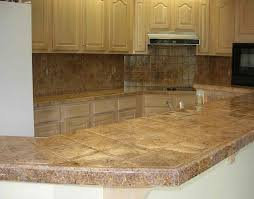 Diy Tile Kitchen Countertops Tile Kitchen Countertops Ideas And Pictures Tile Countertops