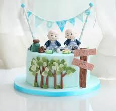 Torte Für Zwillinge 30 Ideen Für Geburtstag Taufe Geburt Babyparty