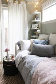 This space may not even legally qualify as a bedroom, but hello! How  gorgeous