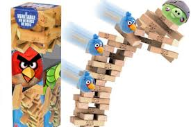 Angry Birds Wooden Block Game