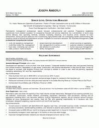 business operations manager resume    resume gallery of    operations manager resume sample resume for managers