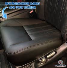 2004 ford f 250 harley davidson leather seat cover driver bottom black