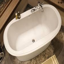 ... Interior Designs Medium Size Ella Sleek Tub Maax Ella Sleek Freestanding  Tub ...