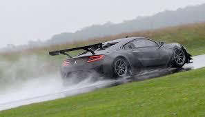 2018 acura nsx gt3. simple acura acura nsx gt3 race car testing at gingerman raceway on 2018 acura nsx gt3