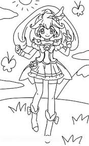 28 Best Precure Images In 2017 Printable Coloring Pages Coloring