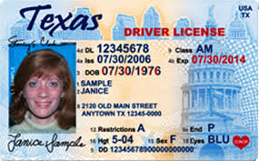 New Driver License Texas' License Texas' Driver License New Driver Texas' Texas' New