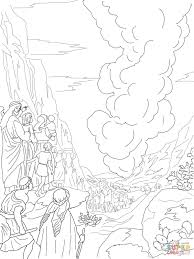 Small Picture Pillar of Fire and Cloud coloring page Free Printable Coloring Pages