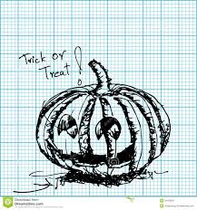Free Graph Paper App Halloween Pumpkin Sketch On Graph Paper Stock Vector