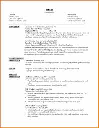 7 Social Worker Resume Templates Top Resume Templates