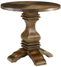 round side table wood industrial accent side table reclaimed bedside table woodworking plans