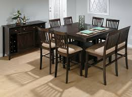 Dining Table With Storage Jofran Bakers Cherry Butterfly Leaf Counter Table With Storage