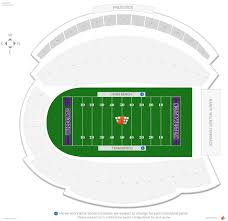 Welsh Ryan Stadium Seating Chart Ryan Field Northwestern Seating Guide Rateyourseats Com