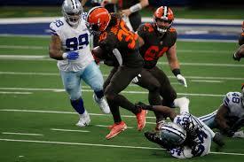 Browns' D'Ernest Johnson's 'Slow Grind' rewarded after Nick Chubb hurt