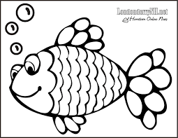 Small Picture Rainbow Fish Coloring Pages Printable Coloring Pages