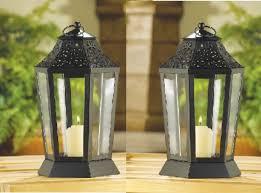 2 midnight garden candle lanterns 9 3