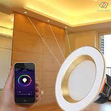 Đèn LED âm trần thông minh có thể điều khiển bằng giọng nói - Đèn trần
