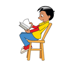 index of indices clipart read book