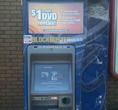 Blockbuster Vending Machines Extraordinary Blockbuster One Dollar Movies Leading Hands Through Technology