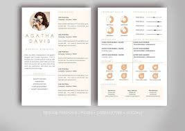 Simple Graphic Design Resume Template Microsoft Word Pdf | Resume ...