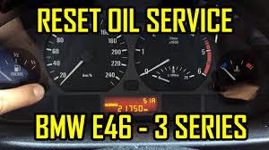 Bmw E46 Oil Inspection Service Light Reset Bmw E46 Reset Oil Service Light
