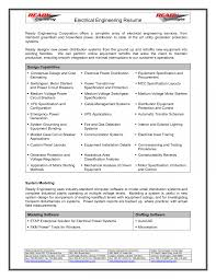 Electrical Engineering Resume Objective Electrical Engineer Resume Objectivese Engineering Objective 24