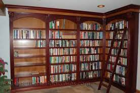 ... Custom Built-in Home Library Bookcases